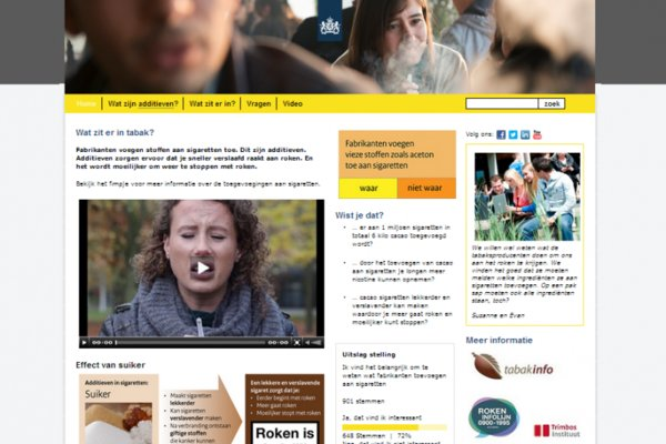 Pretest educatieve website RIVM
