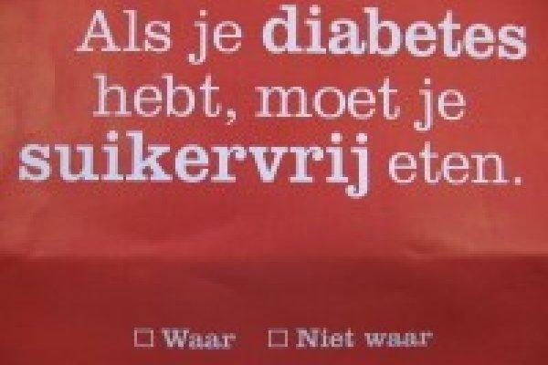 Pretest campagne Diabetes Fonds
